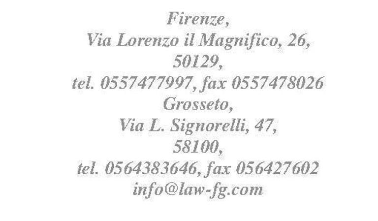 Law firm, Firenze - Florence - (Italy, Tuscany) - Studio Legale ...